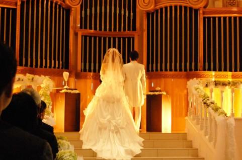 協会での結婚式