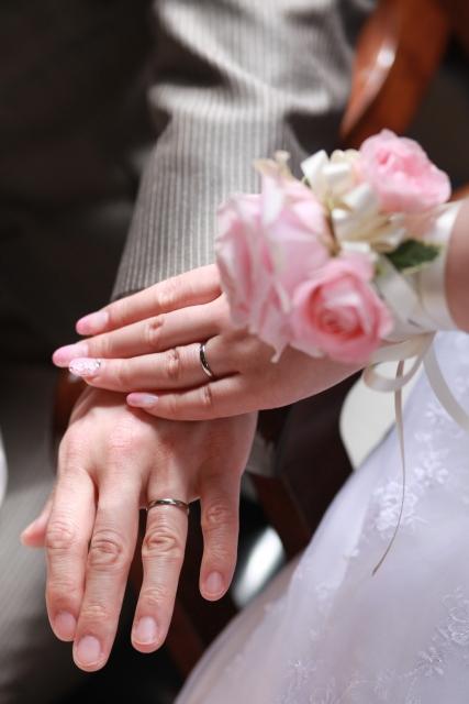 結婚式の手