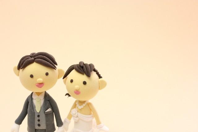 粘土のカップル