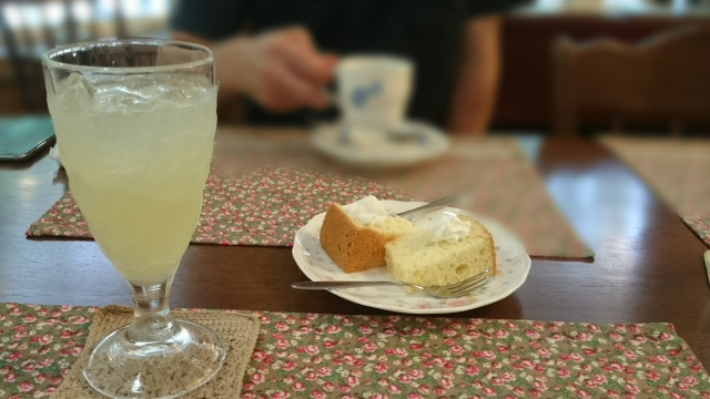 喫茶店写真